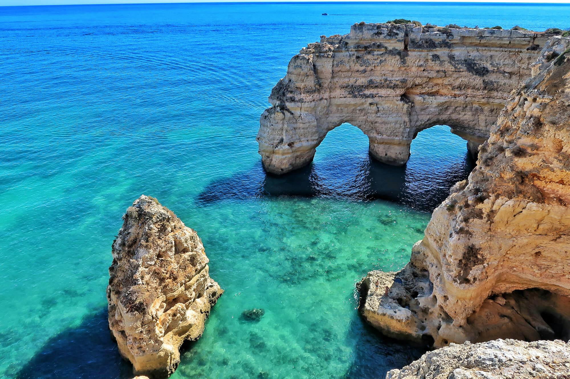 vacances au portugal Britanniques en Algarve